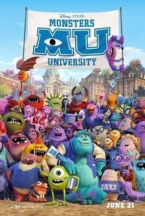 Monsters University Activities and Coloring Pages | Family Fun (movies, crafts, activities) | Scoop.it