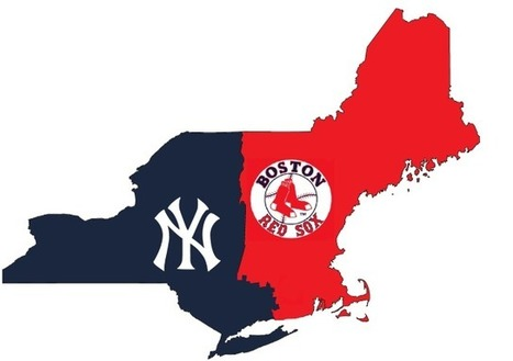 Finding the True Border Between Yankee and Red Sox Nation Using Facebook Data | Geography Education | Scoop.it