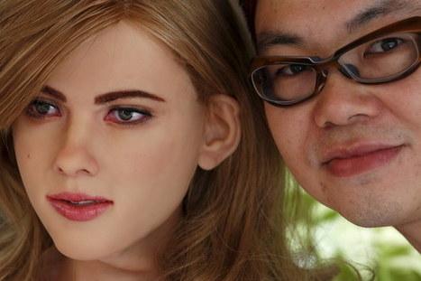 Diseñador japonés crea un robot igual a Scarlett Johansson - TKM United States | eSalud Social Media | Scoop.it