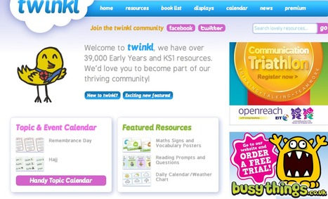 Primary Resources - FREE for Early Years (EYFS) KS1 & KS2 | twinkl | websites Teaching Assistants would find useful.... | Scoop.it