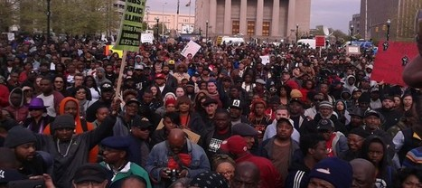 10,000 Strong Peacefully Protest In Downtown Baltimore, Media Only Reports The Violence & Arrest of Dozens | Coffee Party News | Scoop.it