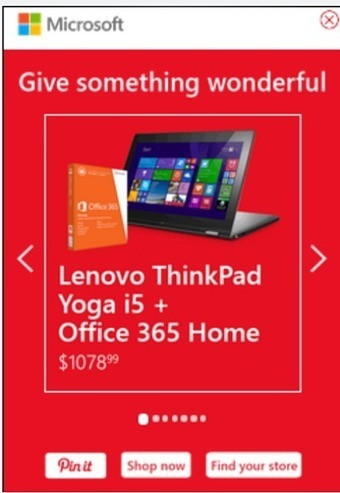 Microsoft touts retailing image with traffic-driving mobile campaign - Mobile Marketer - Advertising | Location-Based Mobile Advertising | Scoop.it