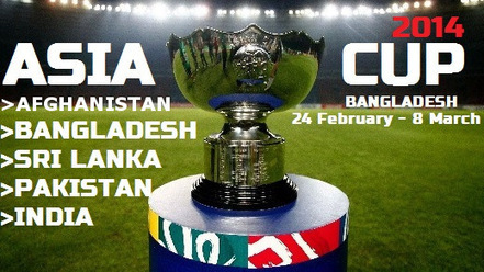 Asia Cup Schedule - 2014 | Asia Cup Schedule - 2014, ipl 2014, t20-world-cup-2014 | Scoop.it