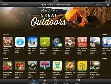 Apps for the Great Outdoors: Featured in the iPad App Store this Week - iPad Insight | iPads, MakerEd and More  in Education | Scoop.it