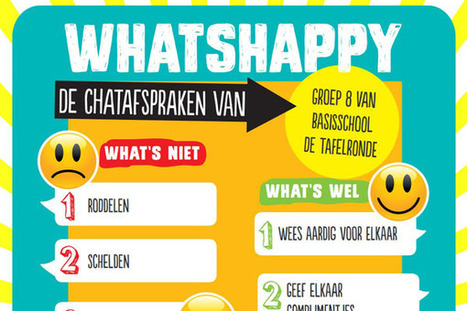 Don't Worry, be (Whats)Happy - Kennisnet | Info Mediawijsheid leerkracht: Mediawijsheid PO | Scoop.it