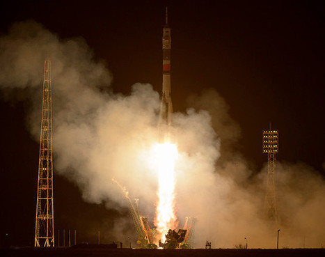 Three Expedition 50 astronauts have been launched to the International Space Station | Science and technology | Scoop.it