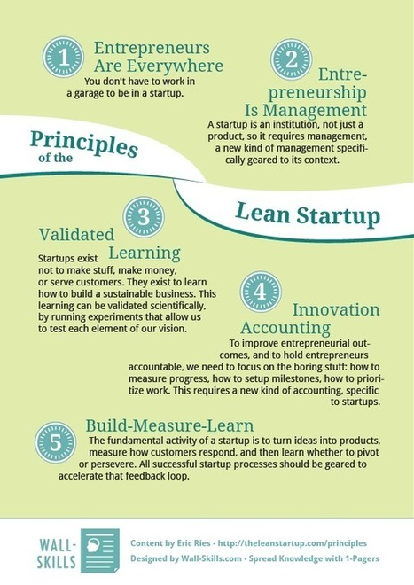 Lean Startup Principles | Educating an educator | Scoop.it