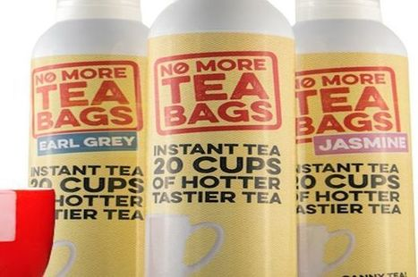 Tea bags are a thing of the past and now we've got something much weirder | Strange days indeed... | Scoop.it