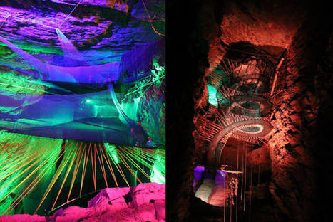 Subterranean Trampoline Playground Hosted Deep Within Welsh Caves - PSFK | Energy Savings | Scoop.it