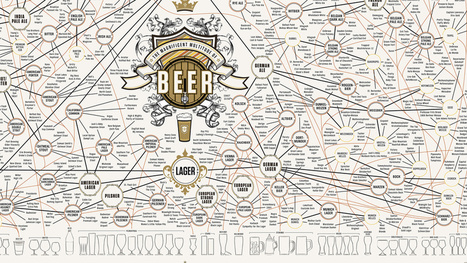 A Massive Map of Beer For Obsessive Brew Snobs - Gizmodo | Beer | Scoop.it