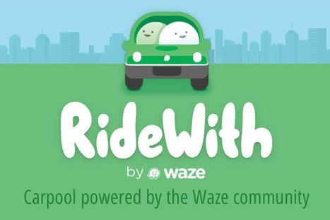 Covoiturage : Google et Waze lancent RideWith   Thierry's TechNews   Scoop.it
