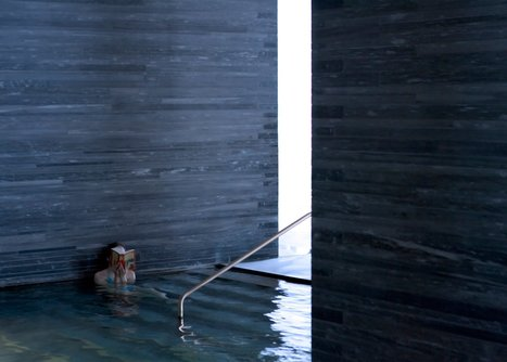 Peter Zumthor's Therme Vals spa photographed by Fernando Guerra | Art Contemporain | Scoop.it