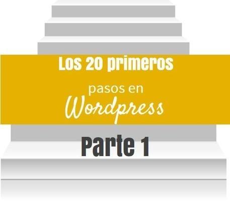 Los 20 primeros pasos en Wordpress - Parte 1 | IncluTICs | Scoop.it