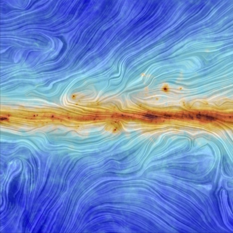 Twisted, Tangled and Turbulent: Magnetic Fields in the Milky Way | Amazing Science | Scoop.it