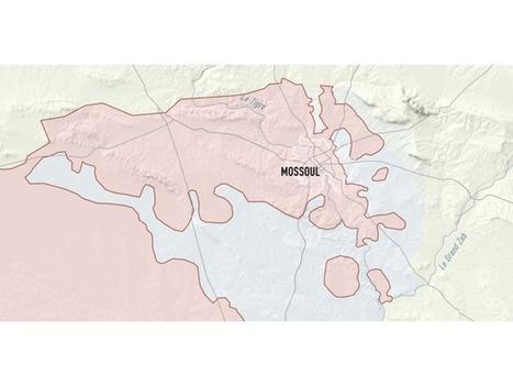 Bataille de Mossoul: le recul de l'Etat islamique cartographié jour par jour | About Geopolitics | Scoop.it