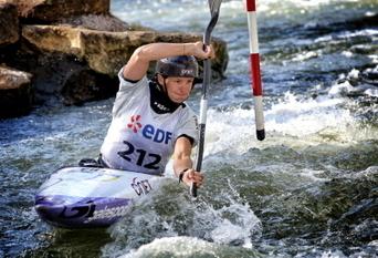 Kayak slalom Emilie Fer : « Il y a une part de chance dans un titre ... - Le Républicain Lorrain   Le canoë-kayak SLALOM avec PadL   Scoop.it