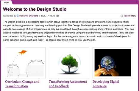 The Design Studio - Supporting Technology-enhanced Teaching and Learning Practice | Into the Driver's Seat | Scoop.it