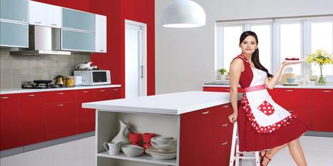 Modular Kitchen, Modular Godrej Kitchen, Steel Modular Kitchen Ahmedabad | Godrej Kitchens in Ahmedabad | Scoop.it