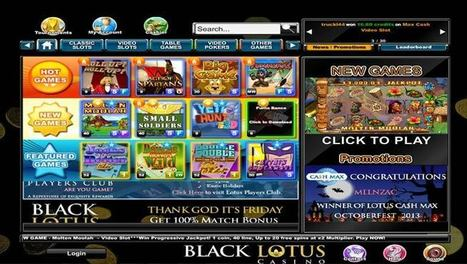 Black Lotus Casino - Review | Online Casino Reports | Online Casino Games | Scoop.it