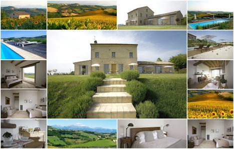 Best Le Marche Accommodations: Casa San Ruffino, Montegiorgio | Le Marche Properties and Accommodation | Scoop.it
