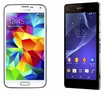 Better Android Smartphone: Samsung Galaxy S5 or Sony Xperia Z2? | E_cell Mobile News Blog | Worth a Share | Scoop.it