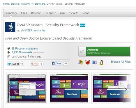 OWASP Mantra - Security Framework | ICT Security Tools | Scoop.it