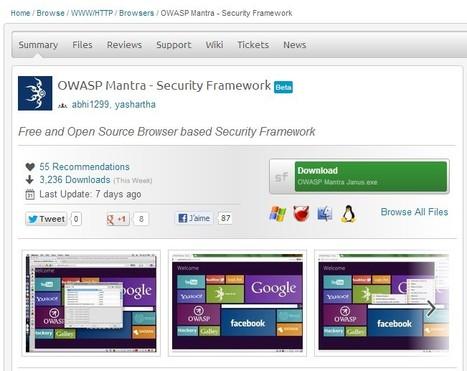 OWASP Mantra - Security Framework | ICT Security Tools | Scoop.it