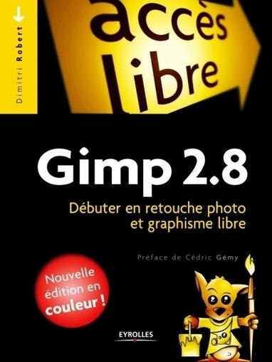 Gimp 2.8 : Débuter en retouche photo et graphisme libre de Dimitri Robert | Livres photo | Scoop.it