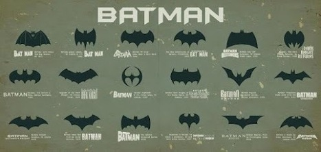 Los logotipos de Batman..!! | variedades del universo | Scoop.it