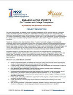 NSSE Institute Engaging Latinos Students | Aprendiendo a Distancia | Scoop.it