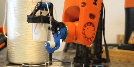 Poznań Student Uses 3D Printing to Create a Carbon Fiber Printing Robot | Smart devices and technology solutions | Scoop.it