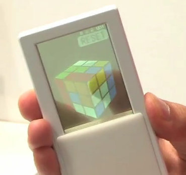 NTT Docomo Showcases Smartphone Prototype with See-through Touch Panel | Embedded Systems News | Scoop.it