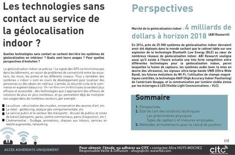 [NOTE - expertise ] Les technologies sans contact au service de la géolocalisation indoor ? | Internet du Futur | Scoop.it