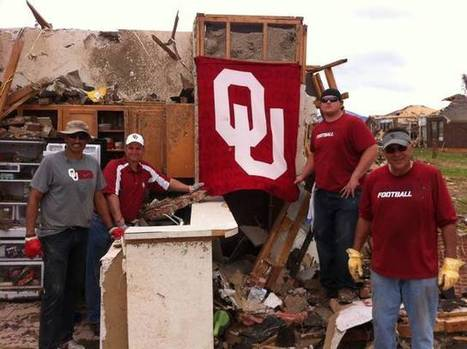 OU's Athletic Staff, Coaches & Players Provide Assistance To Tornado Victims   Sooner4OU   Scoop.it