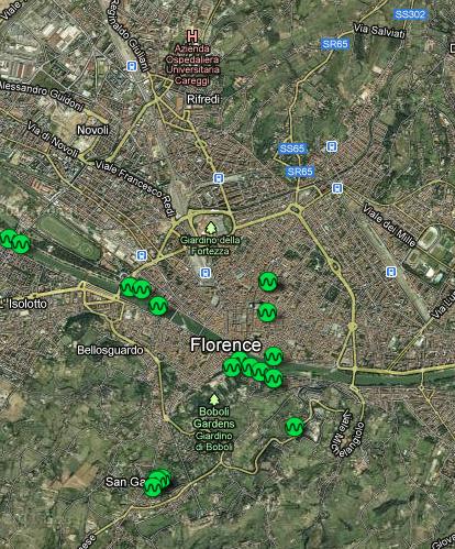 Firenze Sound Map   DESARTSONNANTS - CRÉATION SONORE ET ENVIRONNEMENT - ENVIRONMENTAL SOUND ART - PAYSAGES ET ECOLOGIE SONORE   Scoop.it