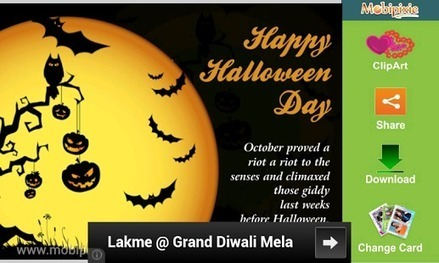 Halloween ECards & Greetings - Android Apps on Google Play | E-Cards For Birthday - wedding or anniversary | Scoop.it