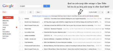 Automatically Delete Older Messages in Gmail with Auto Purge | AllAboutSocialMedia | Scoop.it