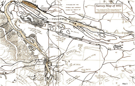 1852_sepia_map | PDX water maps and messes | Scoop.it