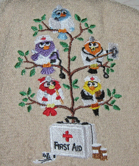 Crochet Hanging towel The tweets are in the medical profession, doctors and nurses   Sew Artfully Simple   Scoop.it