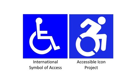 Merriam First City In Midwest To Adopt New Wheelchair-Accessible Icon - KCUR | Universal design | Scoop.it