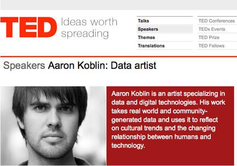 Aaron Koblin | TED.com | Espaces de diffusion sur écrans | Scoop.it