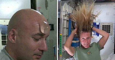 How Astronauts Wash Their Hair in Space | Xposed | Scoop.it