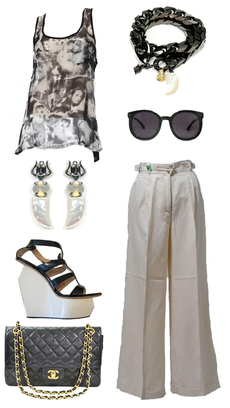 Outfit of the Week | Black and White Party | Spotlight | New York Boutiques | Scoop.it