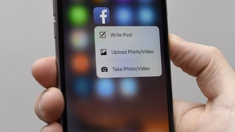 Facebook upgrades its iOS app with new 3D Touch features | Talking Social Media | Scoop.it