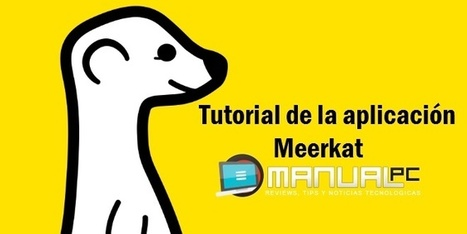 Tutorial de la aplicación Meerkat | Educacion, ecologia y TIC | Scoop.it