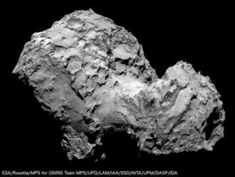 Tweet from @ESA_Rosetta | Mars et astronomie | Scoop.it