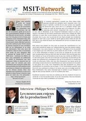 MSIT Network #06 (05/2014) - Association des anciens du MS MSIT HEC / Mines ParisTech | Tech and Gadget | Scoop.it
