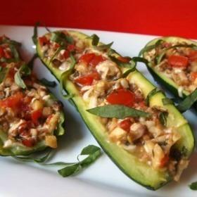 Vegan Italian Stuffed Zucchini | Recipes | Scoop.it