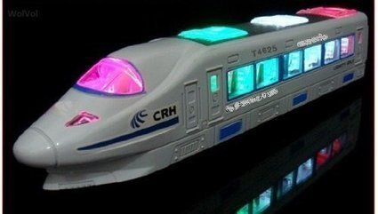 WolVol Electric Train Toy on Sale   Camera Netbooks   Scoop.it