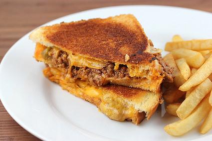 Sloppy Joe Grilled Cheese Recipe | Recipes | Scoop.it